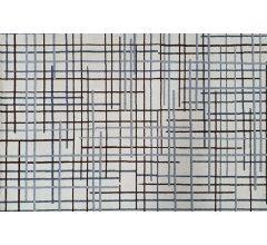 79543 Ivory Grey Berber Rug 1.6 x 2.2m image