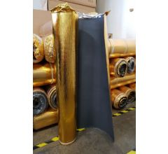 Gold 3mm Rubber Acoustic Underlay by Floortex