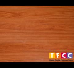 Kempas (Gloss) 12mm AC4 Laminate Flooring by Sunlux
