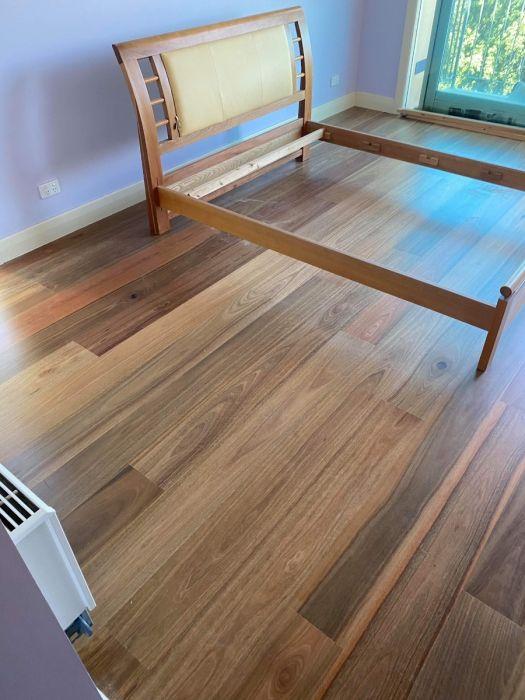Spotted Gum 14mm Engineered Timber, Semi Gloss Laminate Flooring
